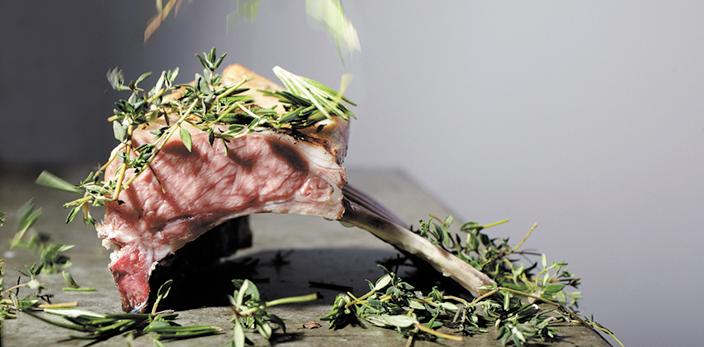 Texles lamsvlees restaurant Bij Jef